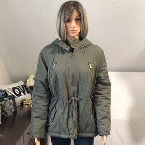 CoffeeShop full-zip hoodie Jacket Large